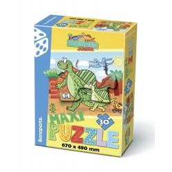 Puzzle MAXI 30, Prehistoric - JUNIOR I