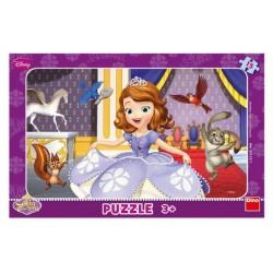 Puzzle Princezná Sofia 29,5 x 19 cm