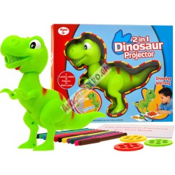 Projektor na kreslenie dinosaurus T-REX