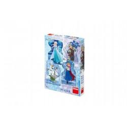Puzzle Frozen- Ľadové kráľovstvo