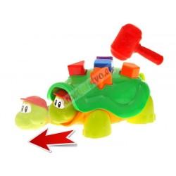 Zatĺkacia korytnačka + kladivo, 18m+