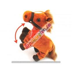 Interaktívny koník, reaguje na dotyk, 2 farby