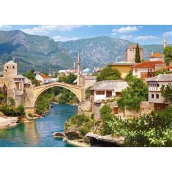 Castorland Puzzle Mostar Bosna a Herzegovina, 1000 dielov