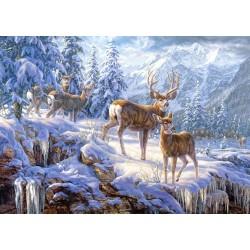 Castorland Puzzle Zimné hory, 1000 dielov