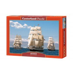 Castorland Puzzle Začiatok pretekov, 1000 dielov