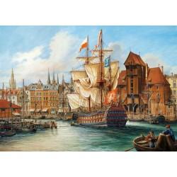 Castorland Puzzle Starý Gdansk, 1000 dielov