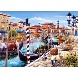Castorland Puzzle Benátsky kanál v Taliansku, 1000 dielov