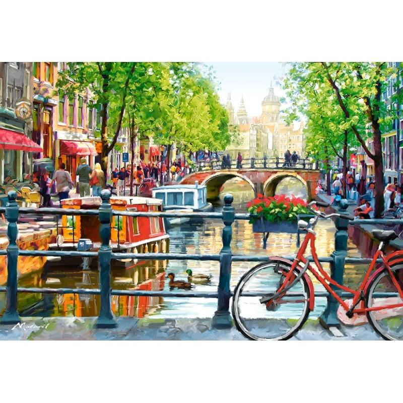 Castorland Puzzle Amsterdam, 1000 dielov