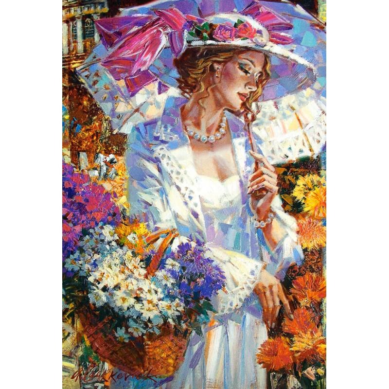 Castorland Puzzle Chryzantémy v záhrade, 1000 dielov