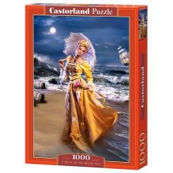 Castorland Puzzle Prechádza v mesačnom svite, 1000 dielov