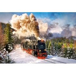 Castorland Puzzle Parný vlak, 1000 dielov