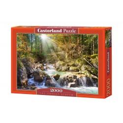 Castorland Puzzle Lesný prúd, 2000 dielov