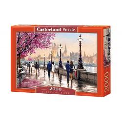 Castorland Puzzle Popri rieke, 2000 dielov