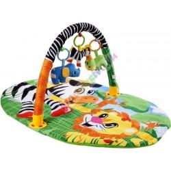 Farebná interaktívna deka pre dieťa, 2 farby