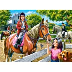 Castorland Puzzle Jazda na koni, 300 dielov