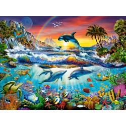 Castorland Puzzle Rajská zátoka, 3000 dielov