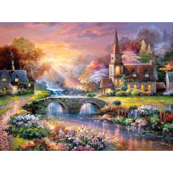 Castorland Puzzle Peaceful Reflections, 3000 dielov