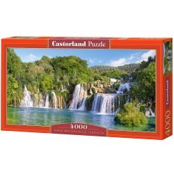 Castorland Puzzle Vodopády Krka, Chorvátsko, 4000 dielov