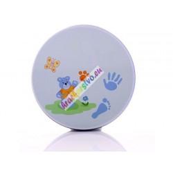 Odtlačok dieťaťa – Krabička + sadra, 2 farby