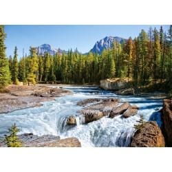 Castorland Puzzle Rieka Athabaska, NP Jasper Kanada, 1500 dielov