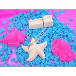 PlaySand - Farebný magický piesok spieskoviskom + formičky