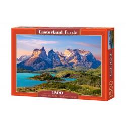 Castorland Puzzle Torres del Paine, Patagónia, Chile,1500 dielov