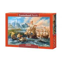 Castorland Puzzle Výprava do nového sveta, 1500 dielov