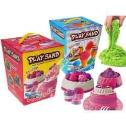 Farebný magický piesok sformičkami, 2 modely