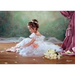 Castorland Puzzle Mierumilovná balerína, 500 dielov