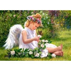 Castorland Puzzle Záhradný anjel, 500 dielov
