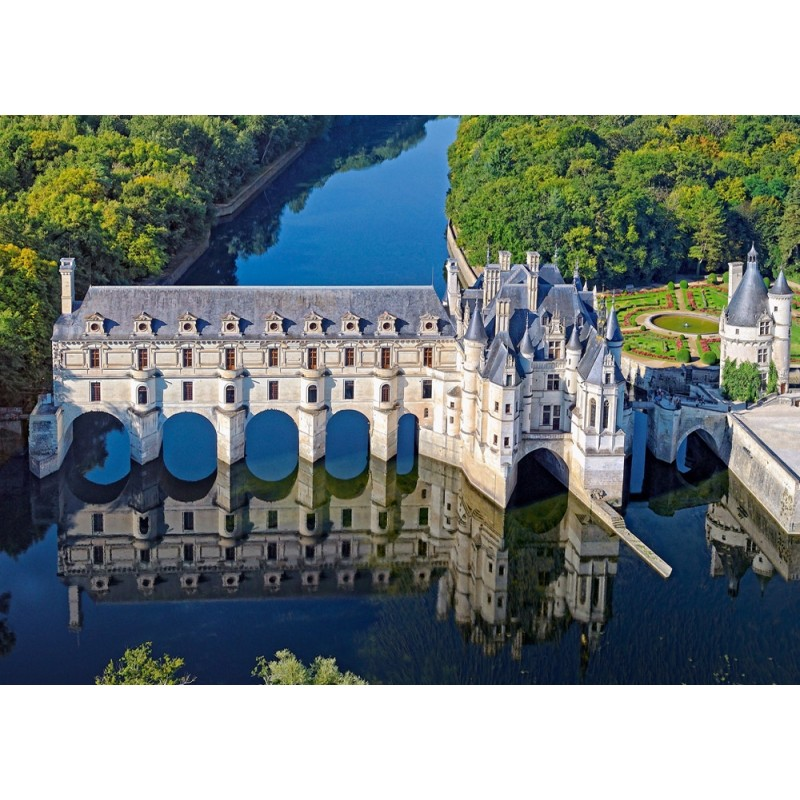 Castorland Puzzle Château of Chenonceaup, 500 dielov