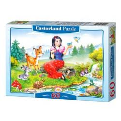 Castorland Puzzle Snehulienka, 60 dielikov