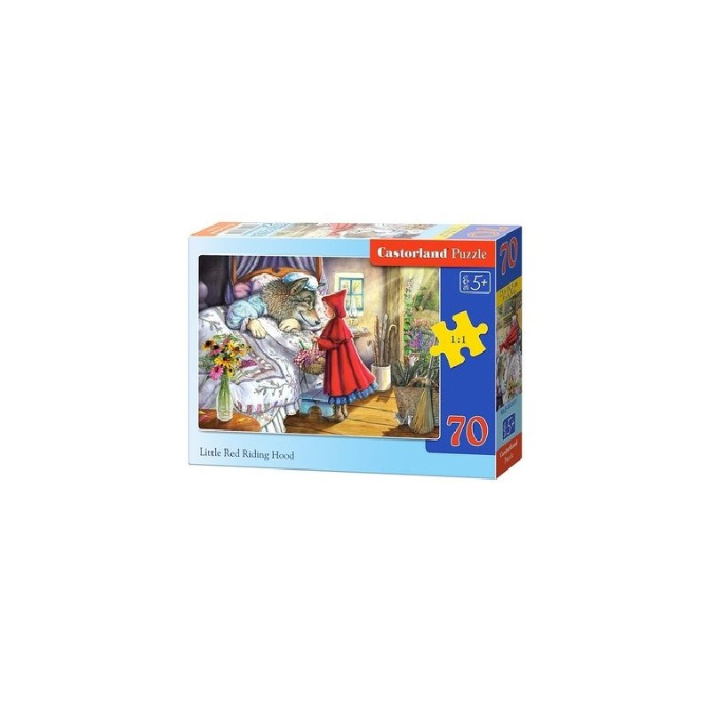Castorland Puzzle Červená čiapočka, 70 dielikov