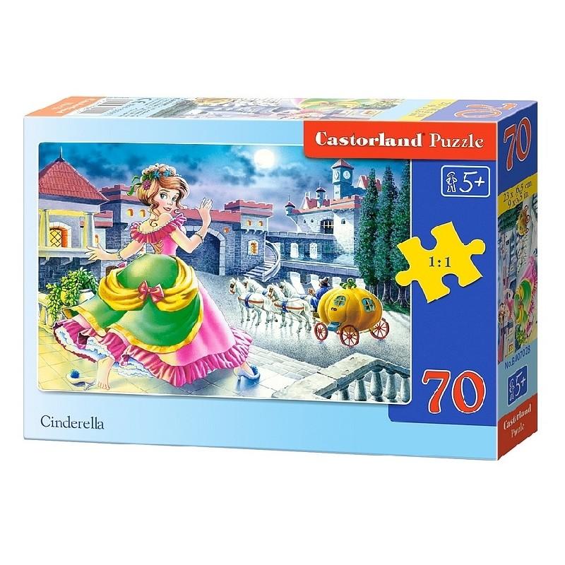 Castorland Puzzle Popoluška, 70 dielikov