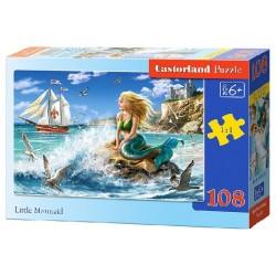 Castorland Puzzle Malá morská panna, 108 dielikov