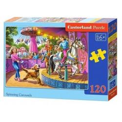 Castorland Puzzle  Rotačný kolotoč, 120 dielikov