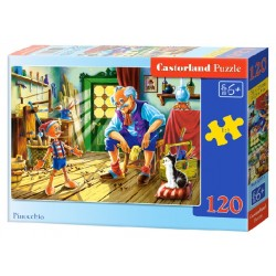 Castorland Puzzle Pinocchio, 120 dielikov