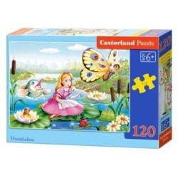 Castorland Puzzle Thumbelina, 120 dielikov