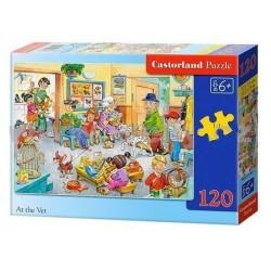 Castorland Puzzle U veterinára, 120 dielikov