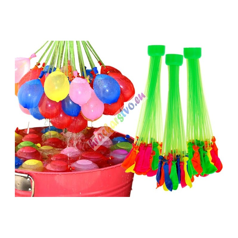 Magické farebné vodné balóniky