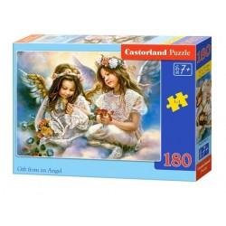 Castorland Puzzle Darček od anjela, 180 dielikov