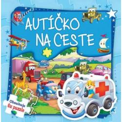 Puzzle kniha - Autíčko na ceste