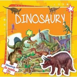 Puzzle kniha - Dinosaury