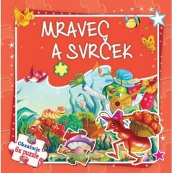 Puzzle kniha - Mravec a svrček