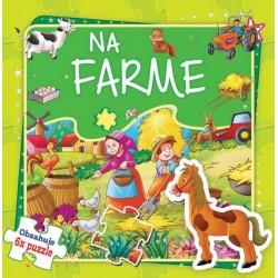 Puzzle kniha - Na farme