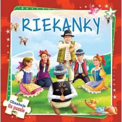 Puzzle kniha - Riekanky