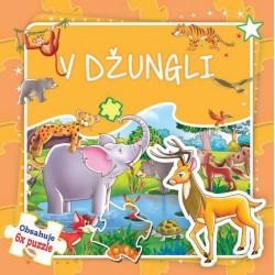 Puzzle kniha - V džungli