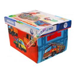 Rozložiteľná krabica – deka suličkami, 2v1