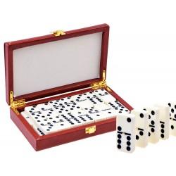 Hra Domino v elegantnej krabičke