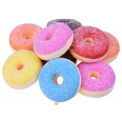 SQUISHY - Antistresová penová hračka Donut, 6 farieb